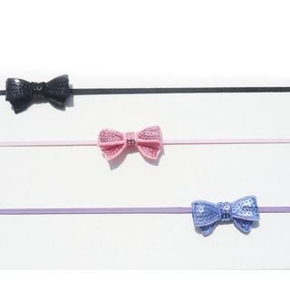 Bow Clippeez 2 Envy Boutique Mini Sequin Bow HeadBand (Set of 3