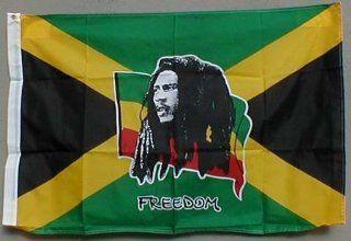 Flagge Fahne ca. 90x150 cm  Bob Marley Jamaica Jamaika