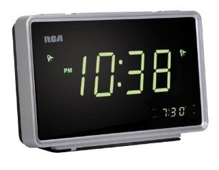 RCA RC140 Dual Alarm Clock Radio (Black) Electronics