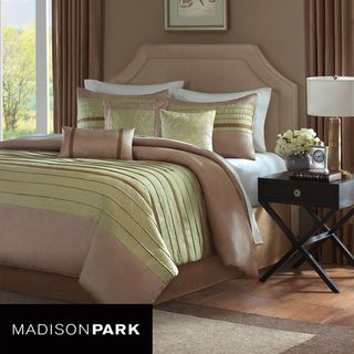 Madison Park Hayes 7 piece King/Cal King Comforter Set