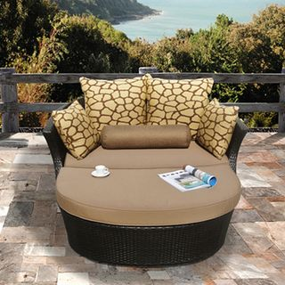 Shotiva Outdoor Furniture Two piece Set with Love Seat and Ottoman