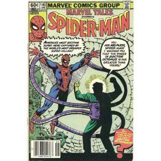 Marvel Tales Starring Spider Man, Vol. 1, No. 140, June 1982 Stan Lee