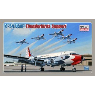 Models C 54 USAF Thunderbirds Support 1/144 Scale Toys & Games