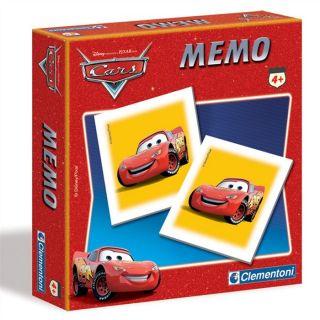 Clementoni Mémo Cars   Achat / Vente JEU DE PLATEAU Clementoni Mémo
