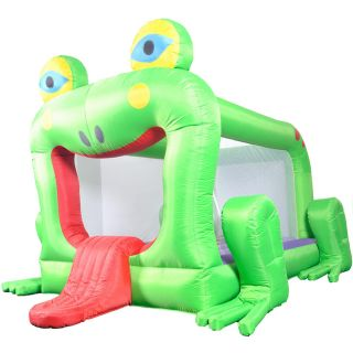 Waliki Frog Inflatable Bounce House