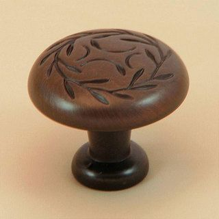 Stone Mill Oil rubbed Bronze Laurel Cabinet Knobs (Pack of 10