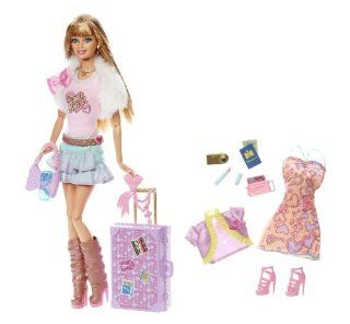 Fashionistas Jet Set Diva SWEETIE V9514 Barbie [Spielzeug]: