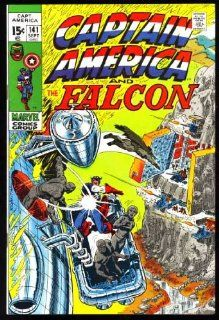 the Falcon (Comic Issue #141) September 1971: Captain America: Books