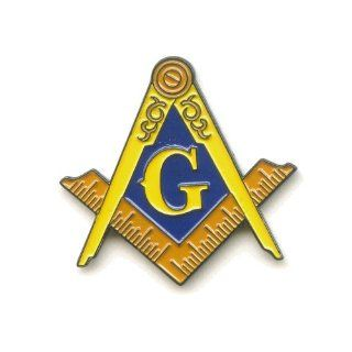 Masonic G Mason Freimaurer Badge Metall Button Luxus Pin Pins