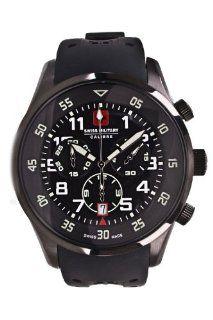 Swiss Military Armbanduhr Candescent schwarz  schwarz 06 4C4:
