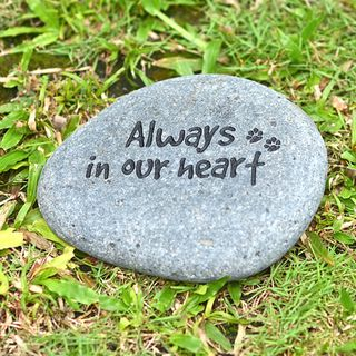Always In Our Heart Pet Memorial Stone (Indonesia)