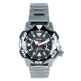 Seiko Mens Divers Automatic Stainless Steel Watch