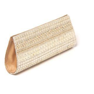 Hand embroidered Two tone Beaded Handbag (India) Today $68.99 4.0 (1