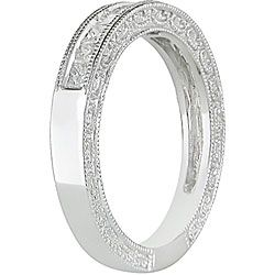 14k White Gold 1/2ct TDW Diamond Anniversary Ring (H I, I2 I3