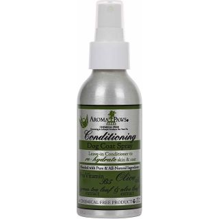 Aroma Paws Olive Oil Conditioning Dog Coat Spray Today $11.99