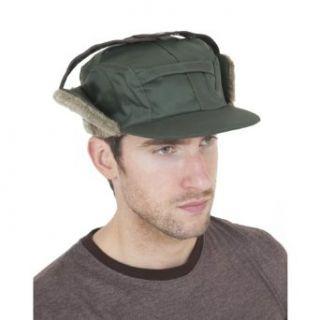 Herren Wasserfeste Thermo Mütze mit Ohrenklappen