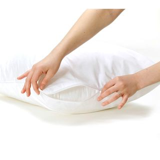 Bed Bug and Dust Mite Proof Pillow Protector Cover (Set of 2