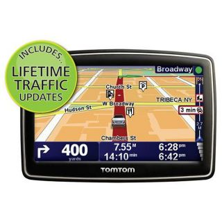 TOMTOM XXL 540T Automobile Navigator with lifetime traffic updates