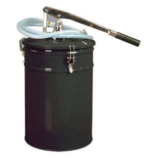 Westward 5TCU8 Gear Oil Pump, Hand Op, 4 Gal, Out Size 3/8