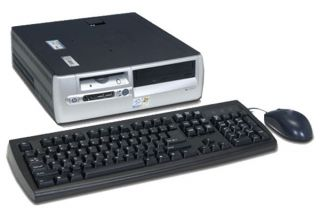 HP/Compaq 2.6GHz Pentium 4 Desktop Computer (Refurbished)