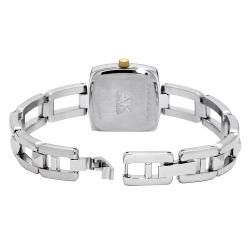 Anne Klein Silvertone Metal Bracelet Watch