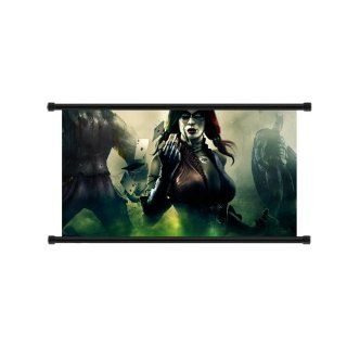 Injustice Gods Among Us Game Fabric Wall Scroll Poster