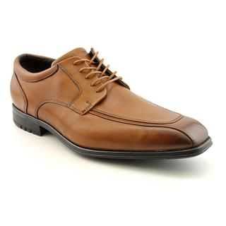 Rockport Mens Fairwood Moc Front Leather Dress Shoes   Wide (Size