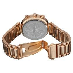 Akribos XXIV Womens Crystal Chronograph Bracelet Watch