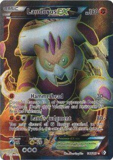 Pokemon   Landorus EX (144/149)   BW   Boundaries Crossed