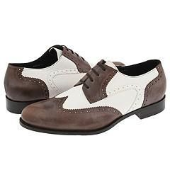 Harrys of London Charlie Dark Tan/White