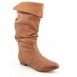 Steve Madden Womens Candence Distressed Leather Boots (Size 6.5