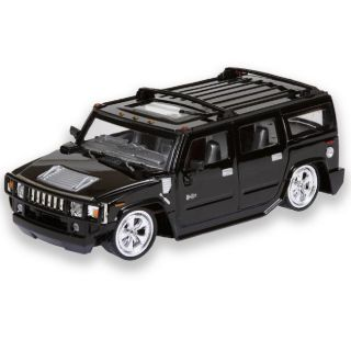 24 scale Radio Control Black Hummer H2