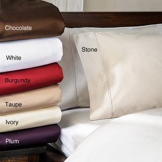 Solid Marrow Stitch 1500 Thread Count Cal King size Sheet Set