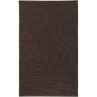 Hand woven Behnam Hand spun Wool Blend Rug (8 x 10)