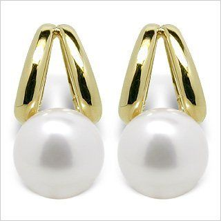 Unicorn Japanese Akoya Cultured Pearl Earring American