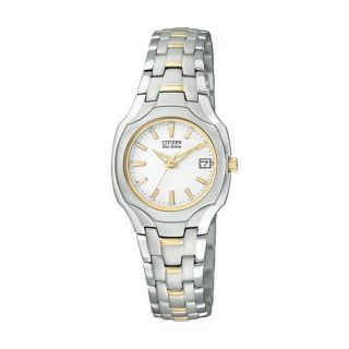 Citizen Eco Drive Two tone Womens Dress Watch