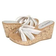Madden Girl Koctail White Paris Sandals