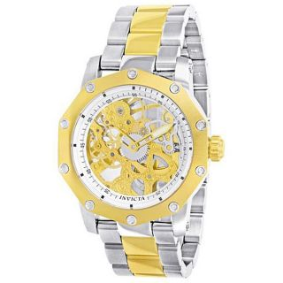 Invicta Signature Mens Two tone Mechanical Watch