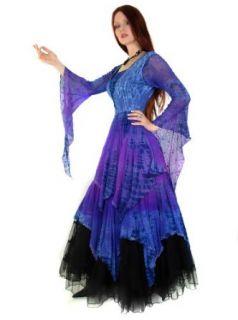 Spider Cob Web Dress, Gothickleid, Zipfelkleid Gr. 38 42    K3: