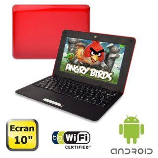 Dust Notebook Android 10 Rouge et noir   Achat / Vente NETBOOK Dust