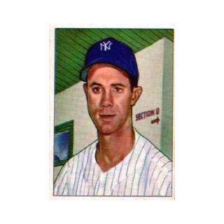 1950 Bowman #154 Gus Niarhos   EX MT Collectibles