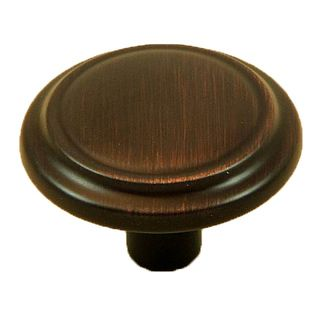 Stone Mill Hardware Sidney Oil rubbed Bronze Cabinet Knob (Pack of