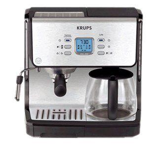 Kombi Kaffeemaschine   Filterkaffee & Espresso XP 2070