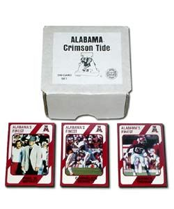 Alabama Crimson Tide Football Set (200 cards)