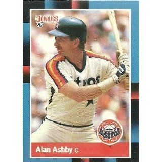 1988 Donruss #163 Alan Ashby   Houston Astros (Baseball
