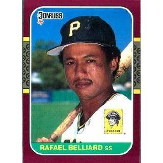 1987 Donruss Opening Day #165 Rafael Belliard   Pittsburgh
