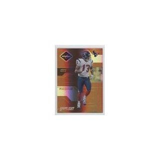 Houston Texans (Football Card) 2005 Leaf Limited Bronze Spotlight #182