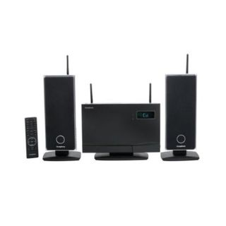 iSymphony W2 Wireless Micro Speaker System and iPod Dock (Refurbished