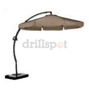 Yotrio International Llc 01294 11.5' Tan Offset Umbrella