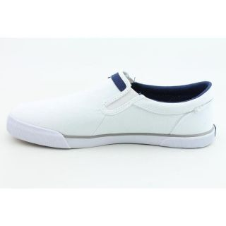Nautica Mens Twin Gore White Casual Shoes